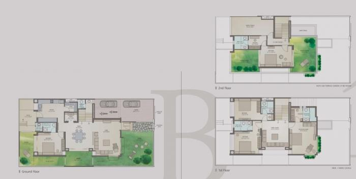 KP Villas, Ahmedabad - Floor Plan