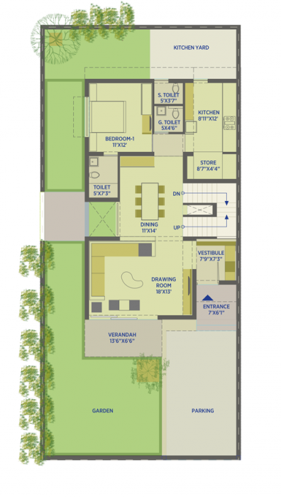 HN Safal Sky City Arcus, Ahmedabad - Floor Plan