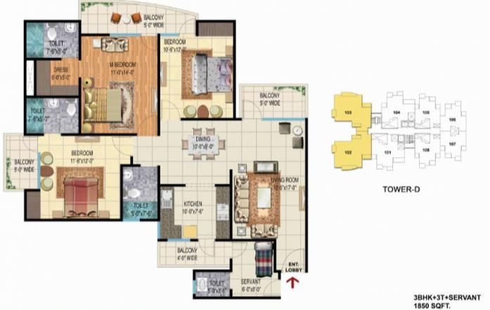 Angel Jupiter, Ghaziabad - Floor Plan