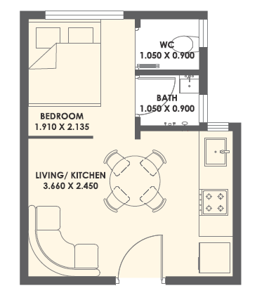 XRBIA Abode, Pune - Floor Plan