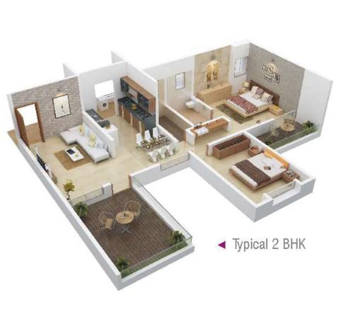 Arc Pukhraj, Pune - Floor Plan