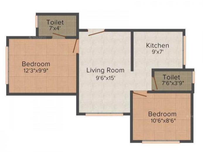 Hava Hira CHS, Mumbai - Floor Plan
