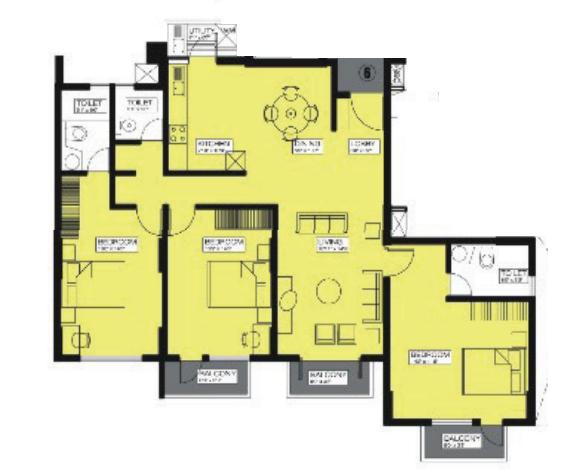 Alpine Viva 3, Bangalore - Floor Plan
