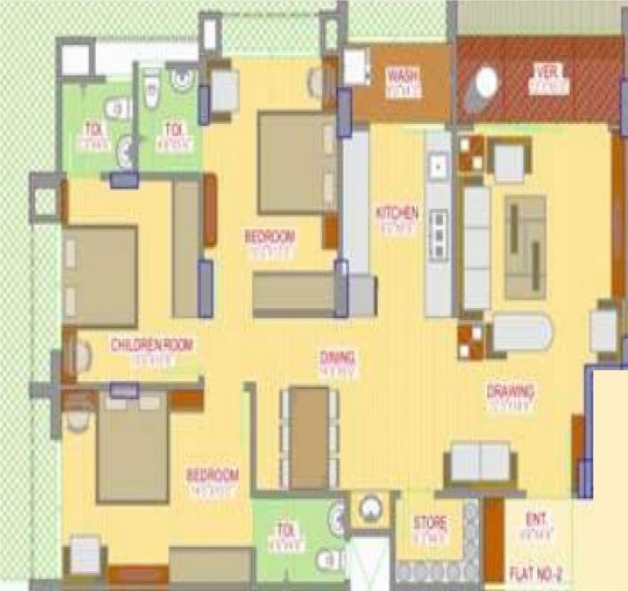 Moksha Sampada Enclave, Ahmedabad - Floor Plan