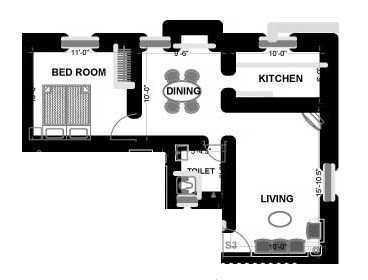 PVK Akshaya Habitat, Chennai - Floor Plan