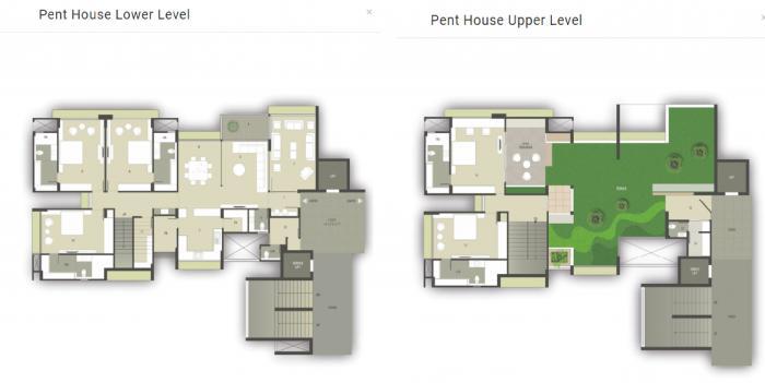 Parshwa Luxuria, Ahmedabad - Floor Plan
