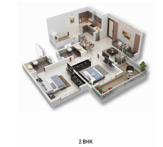 Mantra Divine, Pune - Floor Plan