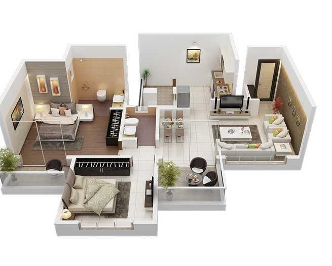 Tanishq Vlasta, Pune - Floor Plan