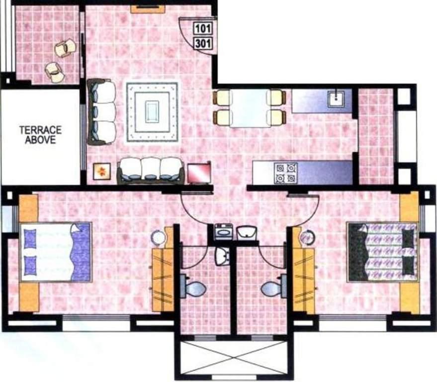 Beharay Rathi Arjun Residency Baner