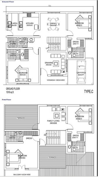 Countrywide Palm Court Villa Panampilly Nagar